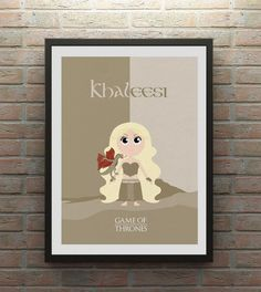 Khaleesi Game of Thrones inspired Character by TheCreativeTicket, £7.00