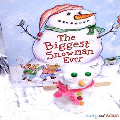 The Biggest Snowman Ever Build a Snowman STEM Activity: Getting kids to focus during the winter months was always a struggle for me. Fortunately, I found the secret to keeping students engaged, even during the long winter months…STEM! You too can increase