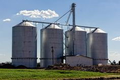 Great picture of the Morrison Ranch Grain Silos in #GilbertAZ taken by Iris Nelson and shared via Flickr.