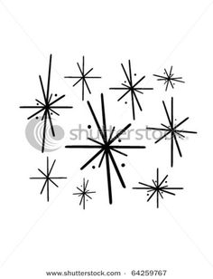 Retro Star Cluster Clip Art (page 3) - Pics about space