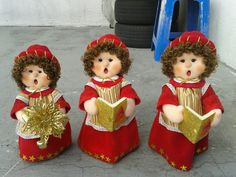 Vintage Christmas, Christmas Crafts, Christmas Decorations, Christmas Ornaments, Holiday Decor, Xmax, Angel Crafts, Finger Puppets, Fabric Dolls
