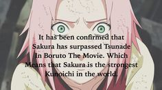 And people still go on with her about being useless... Sakura - the ultimate QUEEN