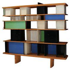 To know more about Charlotte Perriand Maison du Mexique Bookshelf, ca visit Sumally, a social network that gathers together all the wanted things in the world! Featuring over 323 other Charlotte Perriand items too! Shelf Furniture, Design Furniture, Vintage Furniture, Home Furniture, Modern Furniture, Charlotte Perriand, Home Design, Interior Design, Modern Interior