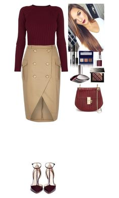 """Outfit"" by eliza-redkina ❤ liked on Polyvore featuring River Island, For Love & Lemons, 3.1 Phillip Lim, Burberry, LORAC, Clinique, Calvin Klein, Chloé, women's clothing and women's fashion"