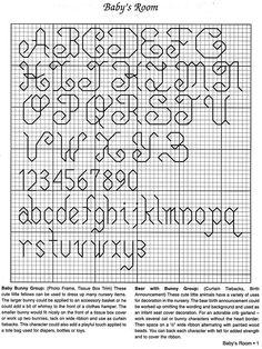 "- alphabet ""Baby's Room""   (2) Gallery.ru / Foto # 2 - Aida / Plus Ba / da 's Ro / om - fede"