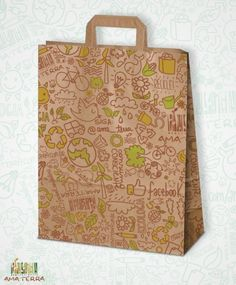 Projeto Gráfico para Embalagens Ama Terra