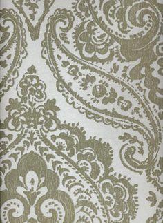 Tapete Old Sarum col.50 | Barock Tapete in den Farben Gold | Grundton Perlmutt