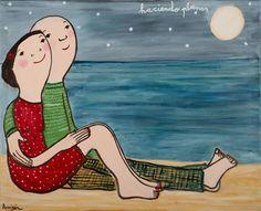 EVA ARMISEN Eva Armisen, Tender Is The Night, Snoopy, Drawings, Paintings, Illustrations, Fictional Characters, Diy, Pretty