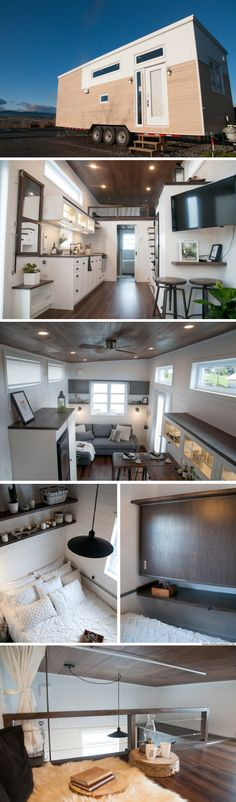 The Laurier tiny house from Minimaliste
