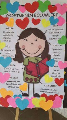 Class Bulletin Boards, Classroom Board, Classroom Decor, Love Teacher, Class Teacher, Art Education, Special Education, Art For Kids, Crafts For Kids