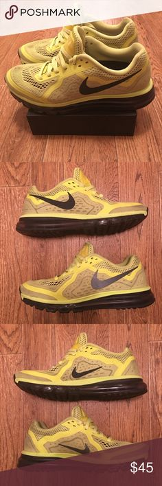 [Nike] Air Max 2014 Men's Running Shoes (used) Used Nike Air Max 2014 men's running shoes, decent condition overall (see photos) Men's Size 9.5     **Offers Accepted **     6117 Nike Shoes Athletic Shoes