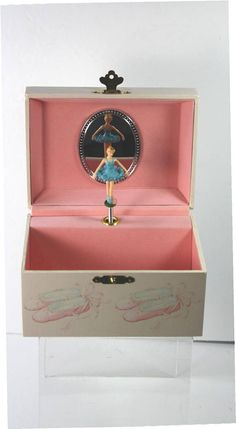 Vintage Childs Musical Jewelry Box Made ln Japan on eBid United