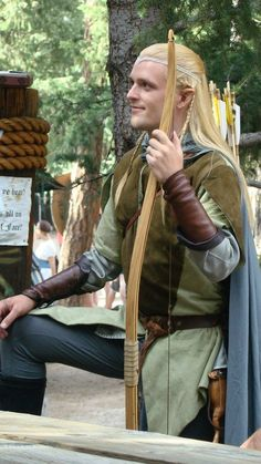 Aaron LePage: Legolas Greenleaf from The Lord of the Rings in Otaku House Cosplay Idol 2012