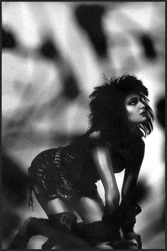 "Siouxsie Sioux ""Hyaena"" album sleeve photo, 1984."
