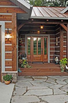 Fourth Quarter Dream - Cabin Life Magazine - Photo by Dallas Carlson, courtesy Holland Log & Cedar Homes