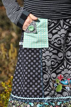 luzia pimpinella - Chice Taschen für Röcke, ganz einfach