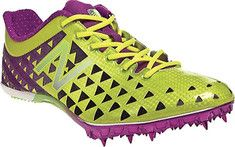 99.95  Aggressive entry level sprinting spike for athletes competing in sprinting events ranging from 55 to 400 meters and long jump during indoor and outdoor track seasons.