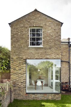 """Vegetarian Cottage"". Location: Hackney, East London, UK; firm: Cousins and Cousins Architects."