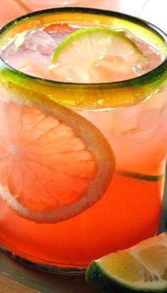 Grapefruit-Cranberry Tequila Cooler