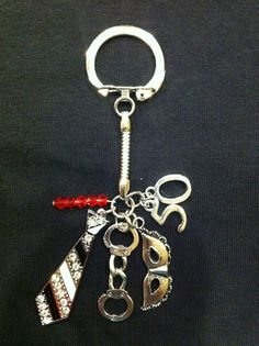 50 Shades of Grey Trilogy Inspired Charm by TyandHaleysMommy, $18.00