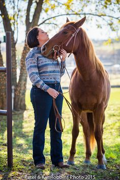 Peter and Kim Robbins photoshoot at Benbrook Stables