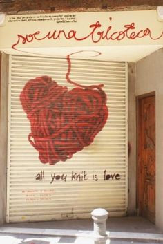 all you knit is love...is a trendy whool shop in the heart of Born quarter
