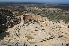 Theatre at Cyrene, Libya | by richard.mcmanus.