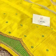 Hand Work Blouse Design, Simple Blouse Designs, Silk Saree Blouse Designs, Bridal Blouse Designs, Blouse Neck Designs, Sleeve Designs, Simple Embroidery Designs, Maggam Work Designs, Designer Blouse Patterns