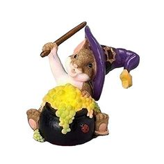 Lit Cauldron Mouse Charming Tail by Dean Griff 'Brewing up some fun' Halloween Ornaments, Christmas Ornaments, Romans 3, Cauldron, All Brands, Some Fun, Branding Design, Drawings, Names