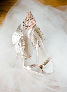Wedding Coordination: En Vogue Events // Photography: Kelli Durham Photography // Shoes: Sofia Webster