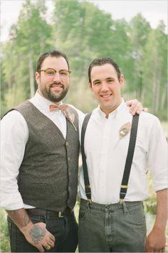 Gay Wedding  adorable couple