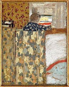 1893 ca, Edouard Vuillard, Le placard à linge, Orsay Paris Edouard Vuillard, Figure Painting, Painting & Drawing, Portrait Art, Pencil Portrait, Felix Vallotton, Art Français, Pierre Bonnard, Post Impressionism