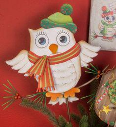 Holiday Owl Single - Large