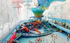 Beijing Water Cube Transformed Into Happy Magic Water Park! | Inhabitat - Sustainable Design Innovation, Eco Architecture, Green Building