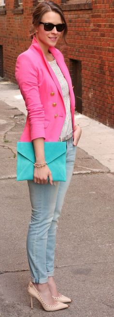 Shoes and the layered look.  Not digging the colors.  Just not my thing.