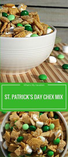 St. Patrick's Day is always a fun one for us even though we are not Irish. We set up little parties and invite friends over to hang out.