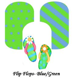 My custom Jamberry Wraps flip flops NAS Nail Wraps #jamberry #gabbysjams Contact me if you are interested in purchasing them:https://www.facebook.com/groups/1000449243382687/ or gabbysjams@gmail.com or https://www.facebook.com/gabbysjams/ DIY, summer, nail art, cute, shoes