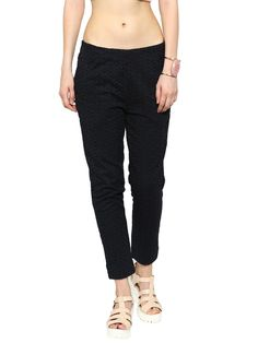 De Moza Ladies Pant / Trouser Stright Pant Woven Black  #womensfashion #discount #onlineshopping #goldlegging #printedlegging #onlinefashion #pants #jogger #cybermonday #skirts