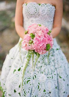 groen-brudekjole