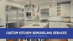 A kitchen remodel can transform a home entirely. It's a place where days start and finish and family members gather. It means the kitchen of every home needs to be functional. And that's what one can achieve by custom kitchen remodeling services. It's a home improvement project that can boost the value of a property to a great extent. kitchenremodeling kitchenremodelingservice remodelingservice remodeling kitchen customkitchenremodelingservice kitchenremodelingservicelosangeles losangeles Kitchen Remodeling, Home Improvement Projects, Kitchen Cabinets, Modern, Home Decor, Trendy Tree, Decoration Home, Room Decor, Cabinets