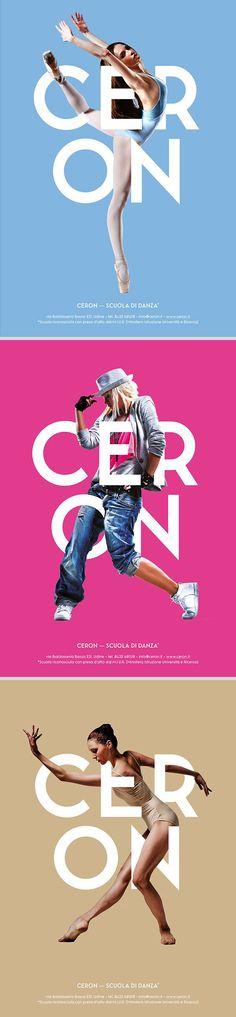 poster set   Ceron Dance School by Ivan Moreale