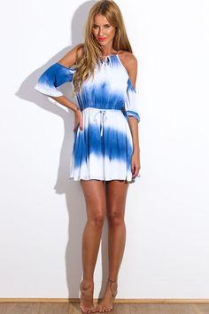 HelloMolly   Rising Sun Dress Blue