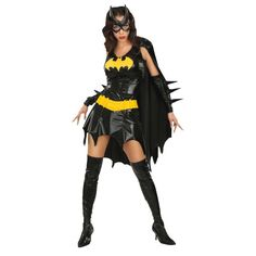Get this adult Batgirl fancy dress costume by for express delivery. Buy Superhero costumes, Batgirl costumes and Batman costume from largest online store. Superhero Halloween Costumes, Batman Halloween, Batman Costumes, Girl Costumes, Adult Costumes, Adult Halloween, Costume Ideas, Women Halloween, Bat Costume