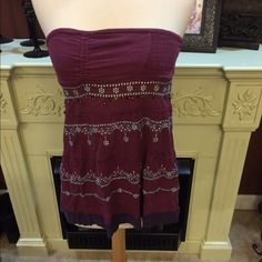 Free people tube top Good condition Free People Tops