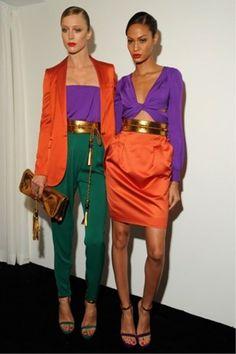 Image detail for -... orange-gucci-blazer-purple-gucci-top-teal-gucci-pants-carrot-orange