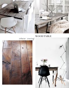 Interior Archives - Page 9 of 14 - Lisa Olsson World Decor, Wooden Tables, Living Room Interior, Wood Projects, Home Office, Sweet Home, New Homes, House Design, Interior Design