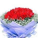 Red Roses Hand Bouquet LUV004