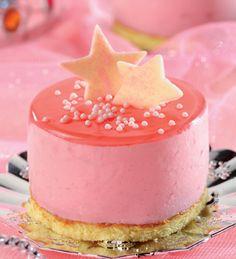 Minitorta rosada #receta #nenas #cumpleanos