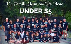 If you're holding a family reunion event, then take a moment to check out these family reunion gift ideas. While gifts are not a requirement of family reunions, the little bit of extra effort is sure to make the event that much more memorable.