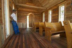 Coker Chapel Tiny Texas Houses, Hardwood Floors, Flooring, Texas Homes, Wood Floor Tiles, Hardwood Floor, Wood Flooring, Floor, Paving Stones